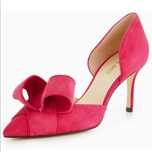 NineWest Mcfally Origami Bow Court  Pink. Size 10